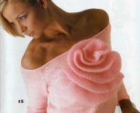 Вязание спицами - модель --15