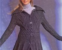 Вязание спицами - модель --14