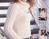 Вязание спицами - модель --10