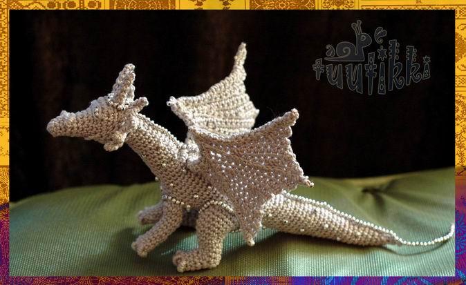 Схема вязание дракона (фото),