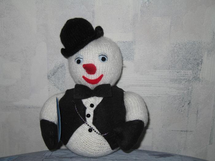 Вязание спицами игрушки