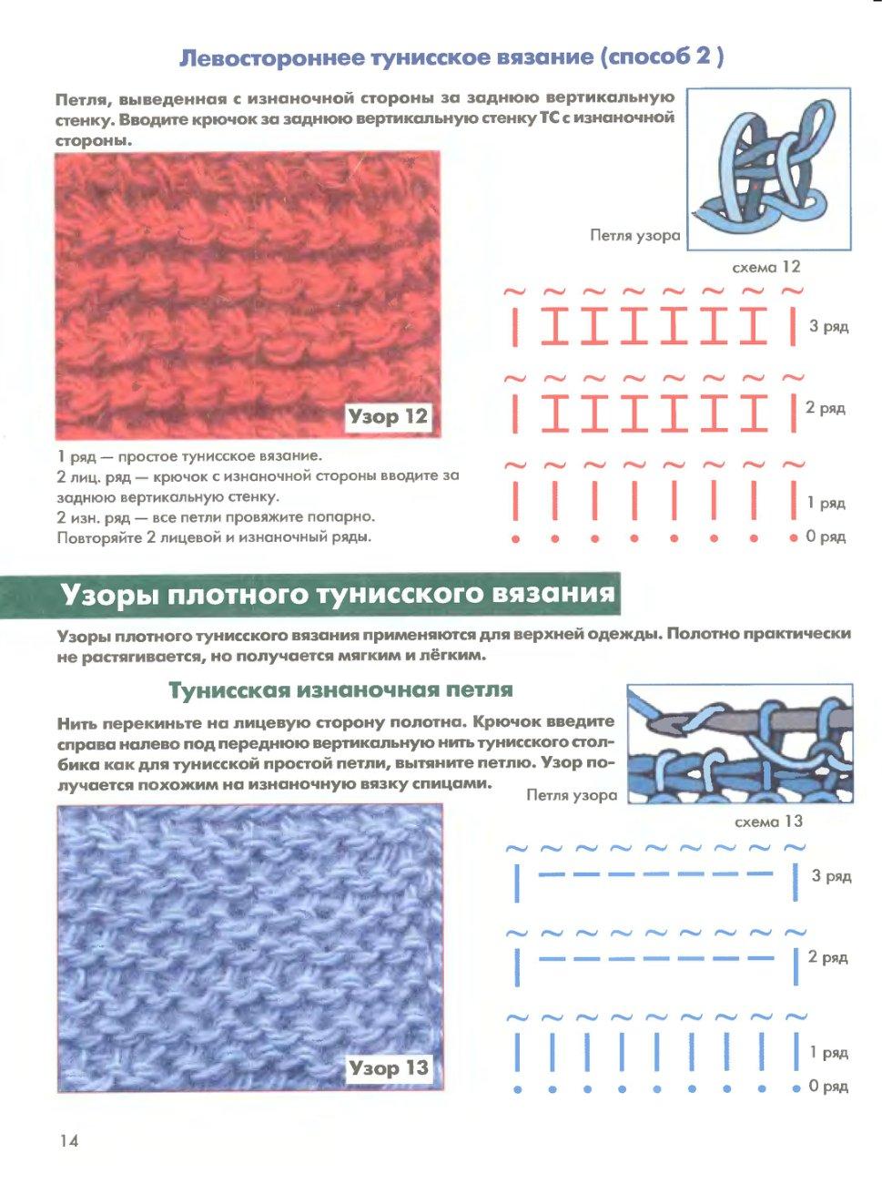расходомеры тунисское вязание крючком картинки и схемы никак
