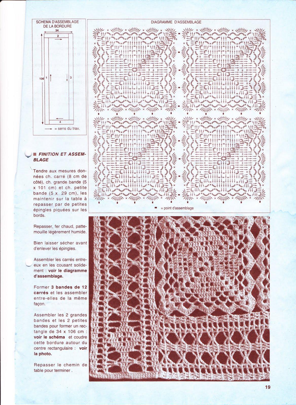 Вязание квадратных салфеток простых