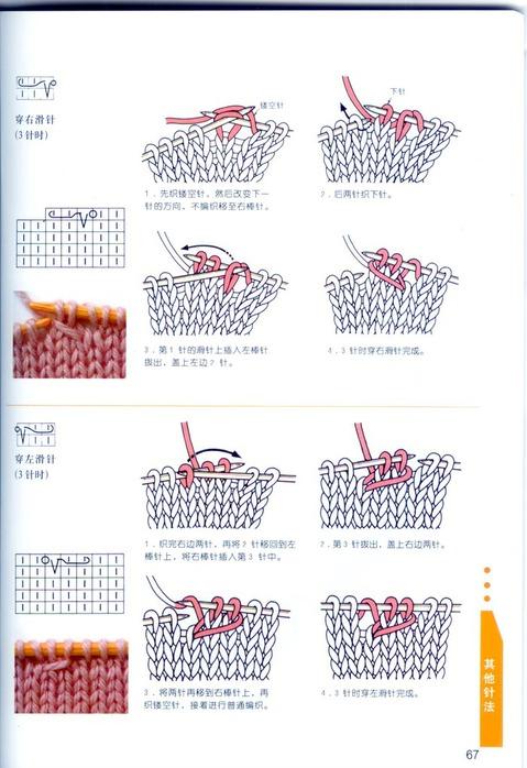 Перевод японских схем по вязанию