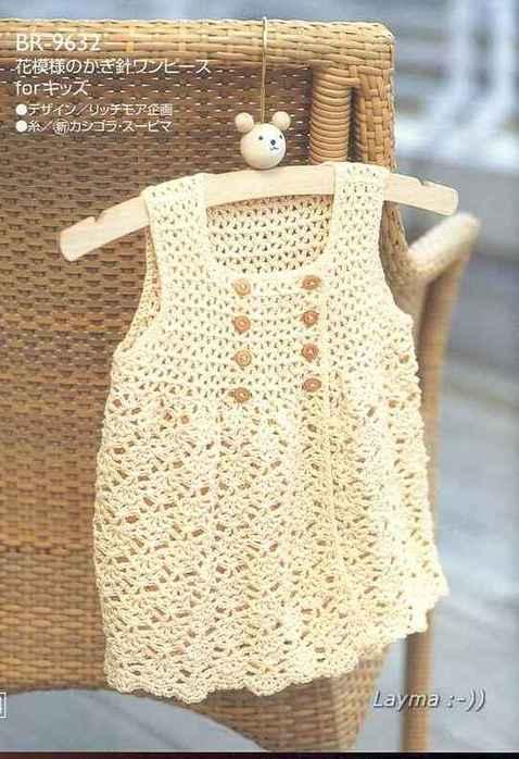 Схема вязания сарафана (фото),