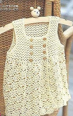 вязаное платье халатик для девочки вязание для детей модели девочек