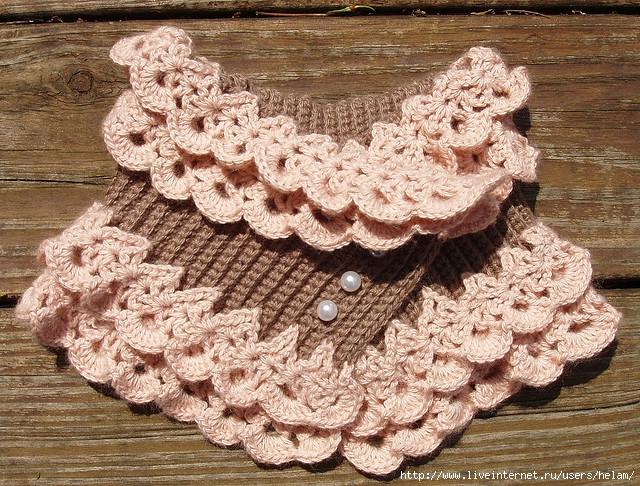 Ажурный воротник-шарфик Austen