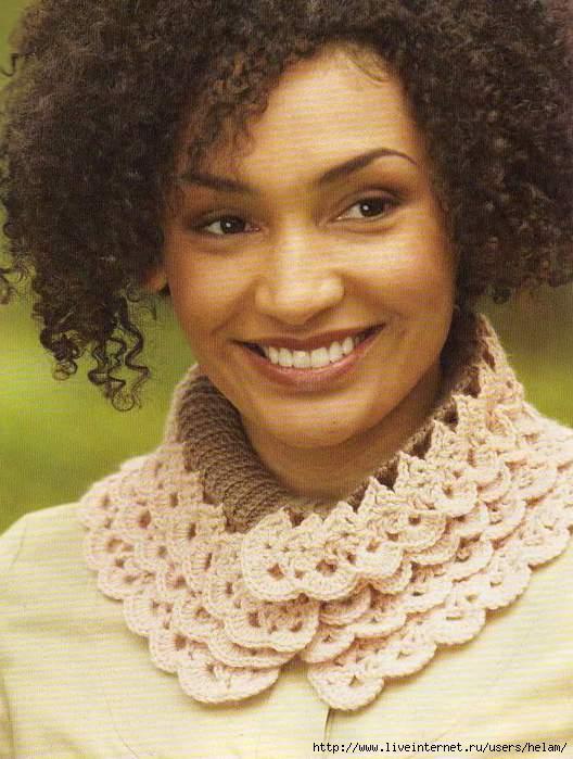Описание вязаного шарфа