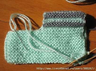 Схема вязания пинеток спицами