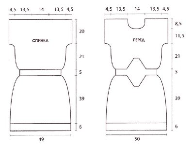 Платье чулок спицами схема фото описание узор косы мода 2012