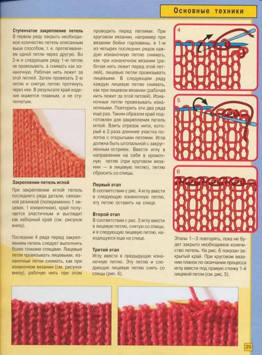 Видеоуроки по вязанию спицами для начинающих пинетки