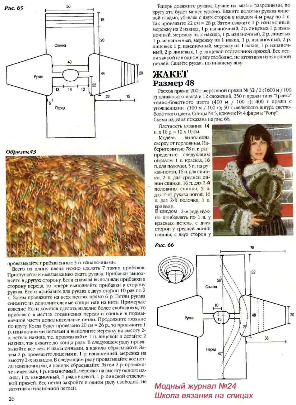 ВЯЖУ САМА Модели и Схемы Вязания Спицами и 17