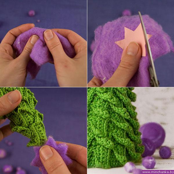 Вязание елочка новый год