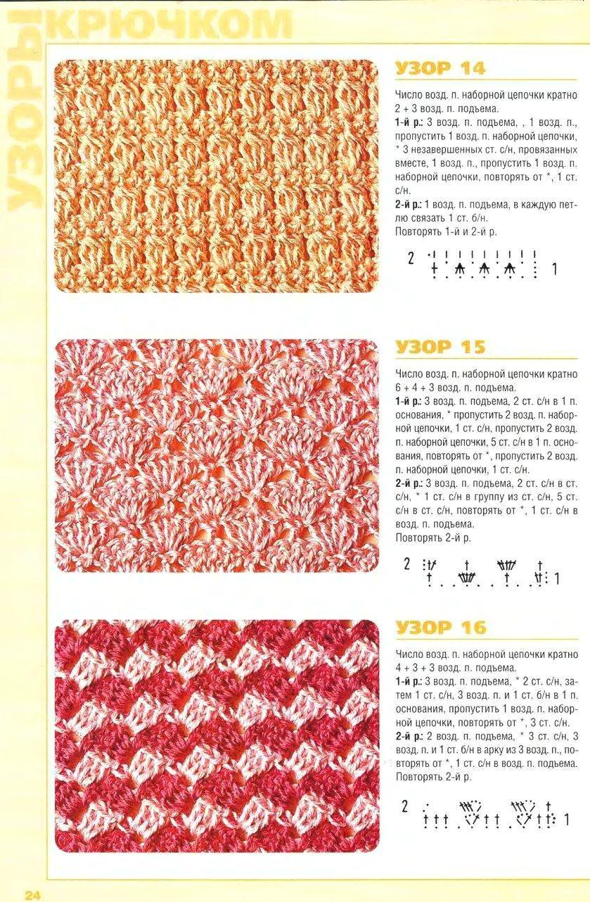 Уроки вязания для начинающих шарфов крючком