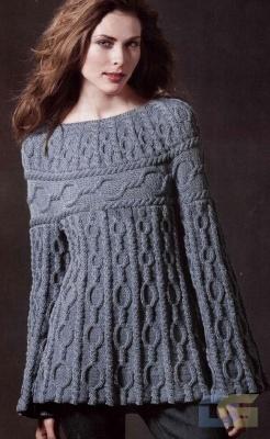 Вязание спицами - модель --2