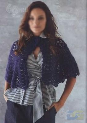Вязание спицами - модель --12
