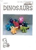 Идеи и фото драконов динозавтров вязание крючком