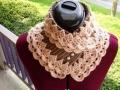 Ажурный шарф воротник вязание крючком фото идеи схема